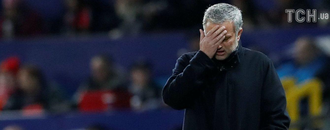 Моурінью нещадно розкритикували англійські ЗМІ після несподіваної поразки та вильоту з Ліги чемпіонів