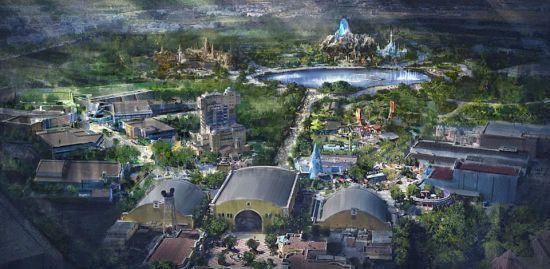 """Появилось видео, как строят парк """"Звездных войн"""", что станет частью Walt Disney World"""