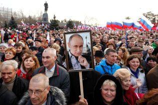 """Путін назвав """"референдум"""" у Криму """"справжньою демократією"""""""