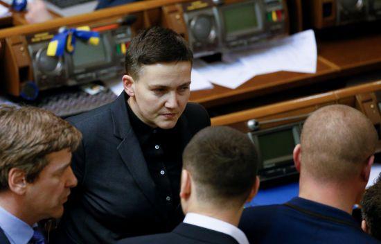 Скористалась Москва. Савченко показує, що ніби прийшла з явкою з повинною