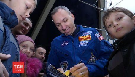 Приезд астронавта Рэнди Брезника поднял фурор в Днепре