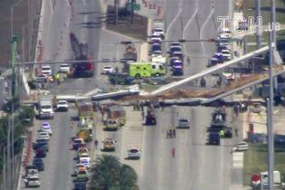 В Майами под обломками моста могут быть тела людей
