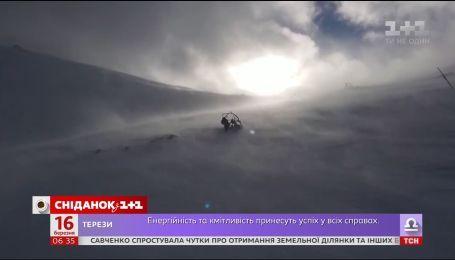 На Украину надвигаются морозы и сильные снегопады