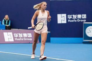 Костюк зробила суперкамбек і вийшла до півфіналу турніру в Китаї