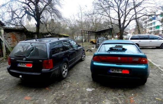 На Закарпатті невідомі понівечили автомобілі з угорськими номерами