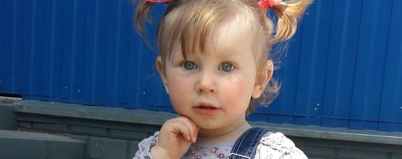 Лейкоз поставив під загрозу життя 2-річної Насті