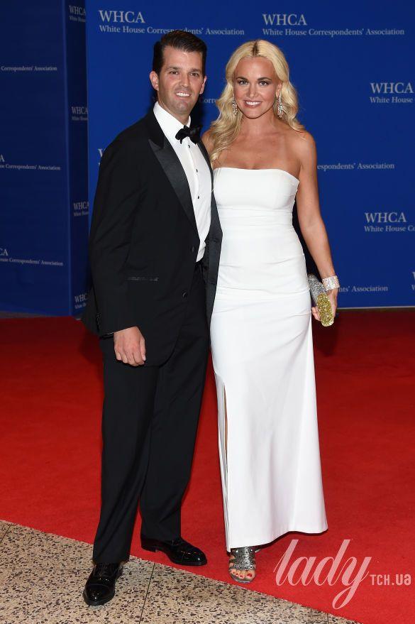 Дональд Трамп-младший с женой Ваннесой Трамп