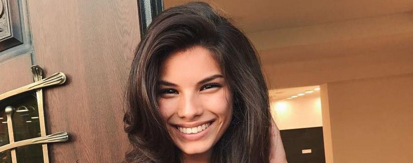 Мишель Андраде поделилась секретом ухода за волосами