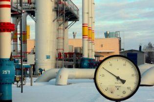 В украинских хранилищах запасы газа выросли на 20%