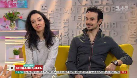 Екатерина Кухар и Александр Стоянов станцевали импровизацию в прямом эфире