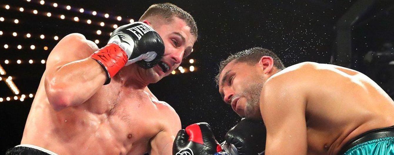 Українець Гвоздик побив Амара і завоював тимчасовий титул WBC