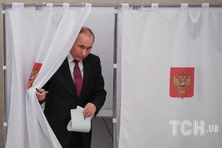 Путін проголосував за себе на виборах і розповів, якого чекає результату