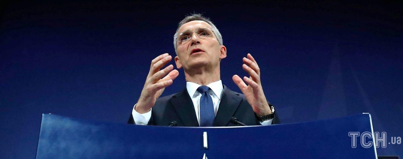 Генсек НАТО підтримав військову операцію проти режиму Асада