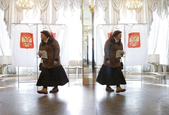 ЦВК Росії заявив про хакерську атаку в день виборів президента