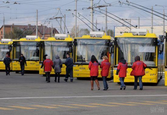У Києві змінені маршрути тролейбусів та автобусів