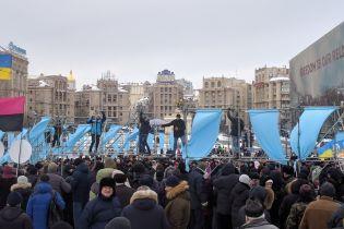 Активісти розбирають конструкції на Майдані Незалежності