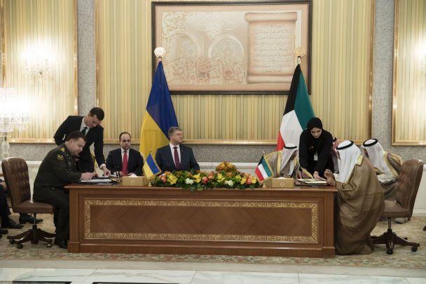 Україна та Кувейт домовилися про обмін розвідувальною інформацією
