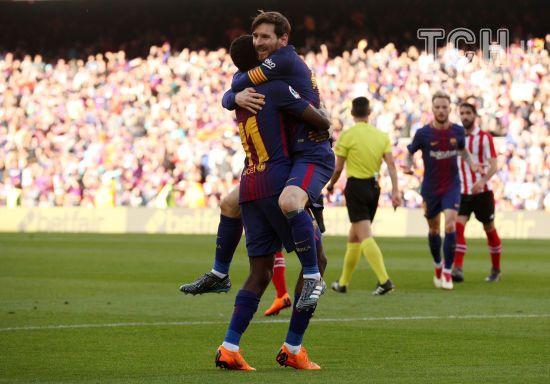 """""""Барселона"""" без проблем обіграла """"Атлетик"""" і набрала вже 75 очок у Примері"""