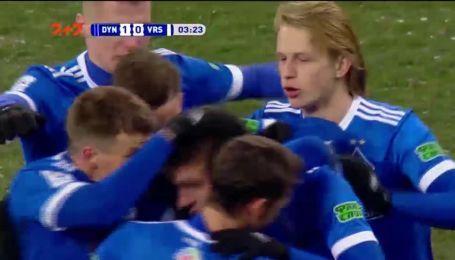 Динамо - Ворскла - 1:0. Видео гола Беседина
