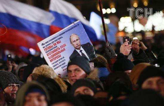 Суперники Путіна швидко втрачають підтримку. Офіційні результати голосування онлайн