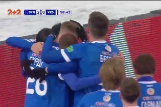 Динамо - Ворскла - 2:0. Видео гола Бурды