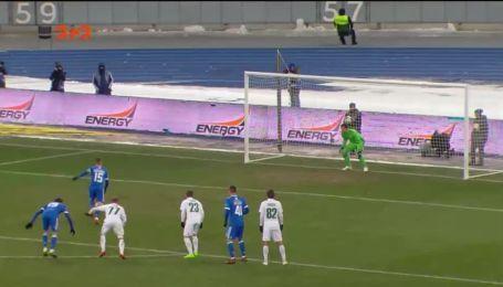 Динамо - Ворскла - 3:0. Видео гола Цыганкова