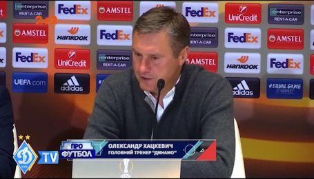 Хацкевич: Хачериди сказал, что не может сыграть левого центрального защитника