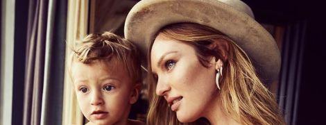 Беременная Кэндис Свэйнпоул показала трогательный снимок со своим сыном