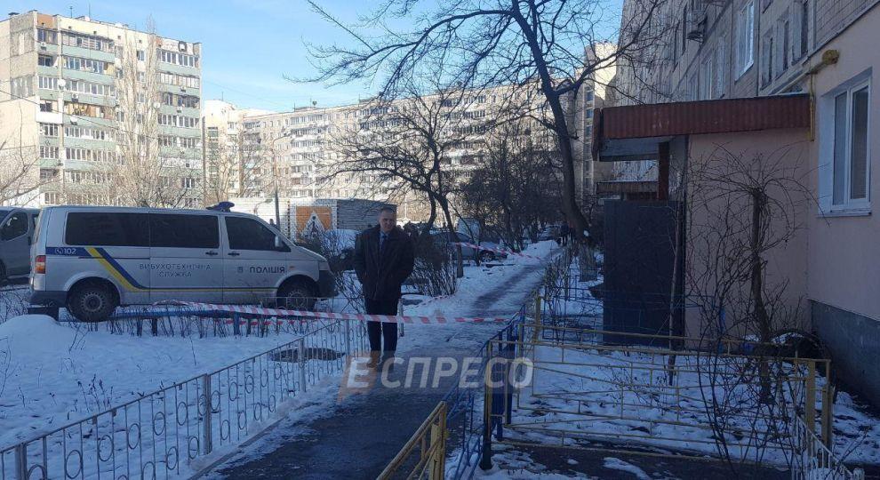 Подробиці вибуху в Києві: двоє людей потрапили в лікарню, поліція знайшла ще одну гранату