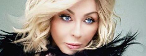 Романтична Ірина Білик у чорному хутрі знялася у загадковій фотосесії