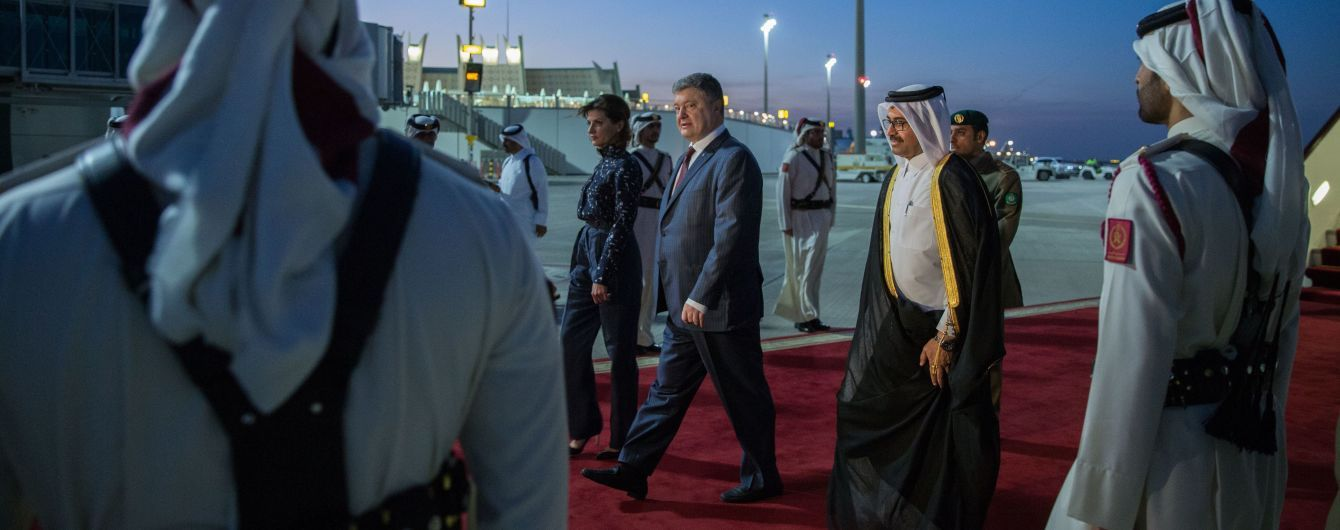 Порошенко знайшов у Катарі ще одну заміну російському газу