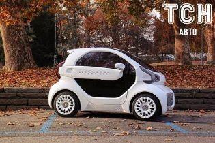 В продаже появится электромобиль, напечатанный на 3D-принтере