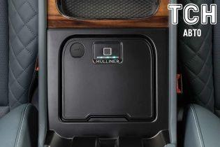 В кроссовер Bentley Bentayga встроили сейф