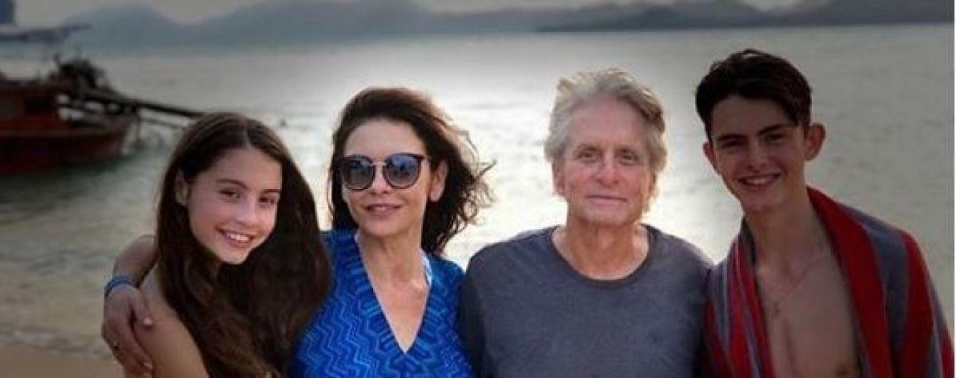 Кетрін Зета-Джонс показала, як вони з Майклом Дугласом змінилися за 10 років