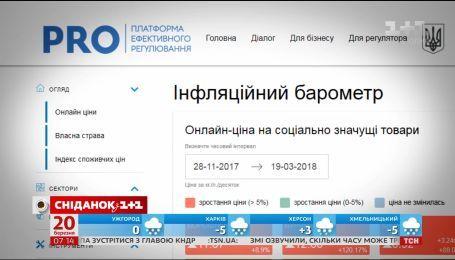 Українці зможуть відстежувати ціни на продукти онлайн