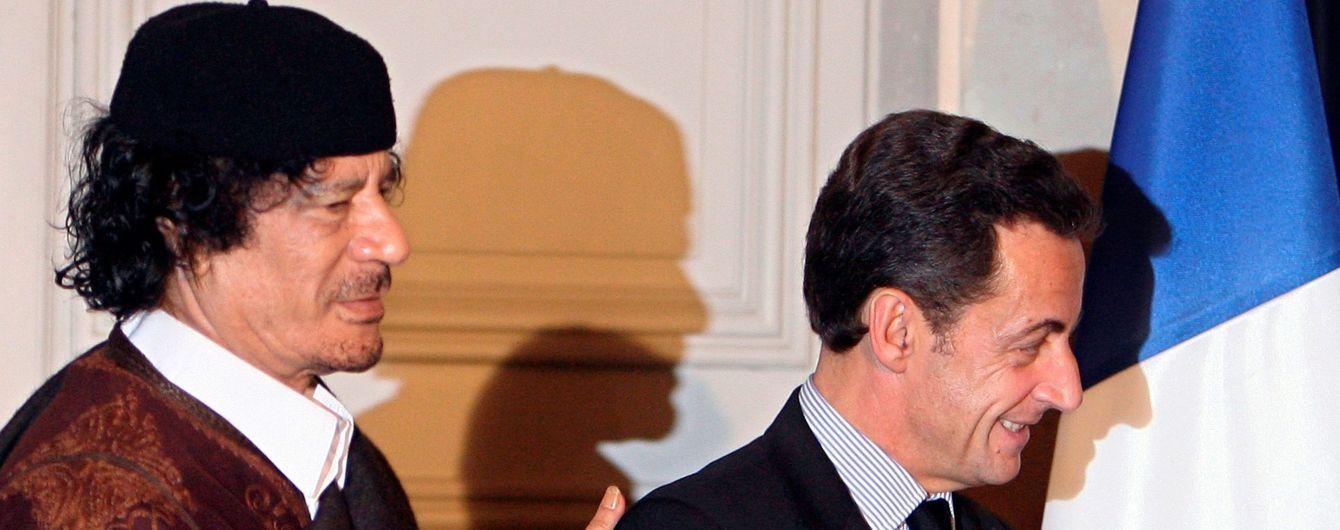 Тінь Каддафі. Чому і за що затримали екс-президента Франції Саркозі
