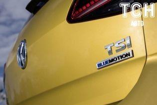 Двигатель Volkswagen Golf манипулирует цилиндрами
