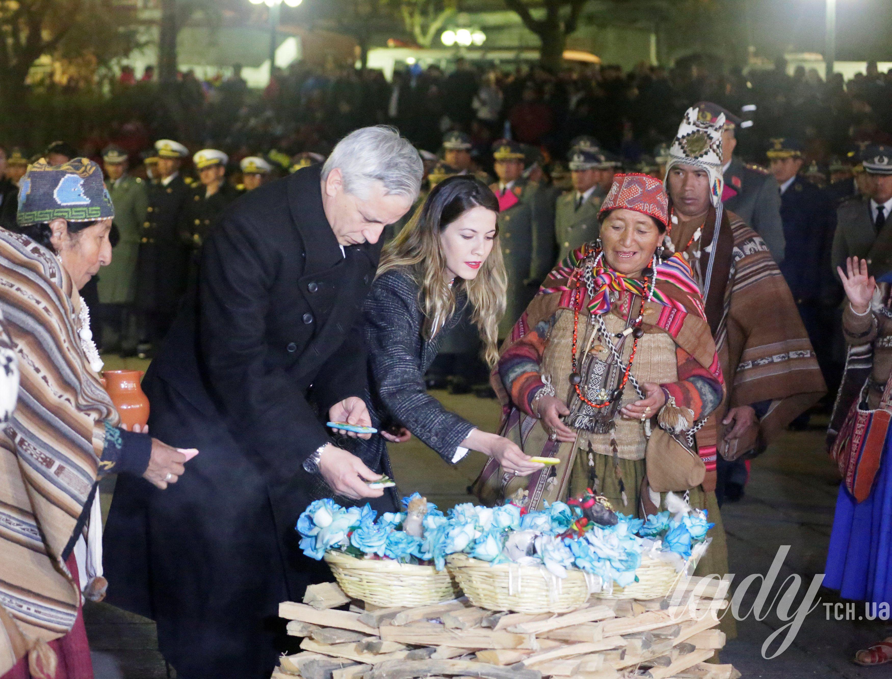 Жена вице-президента Боливии Клаудия Фернандес_1