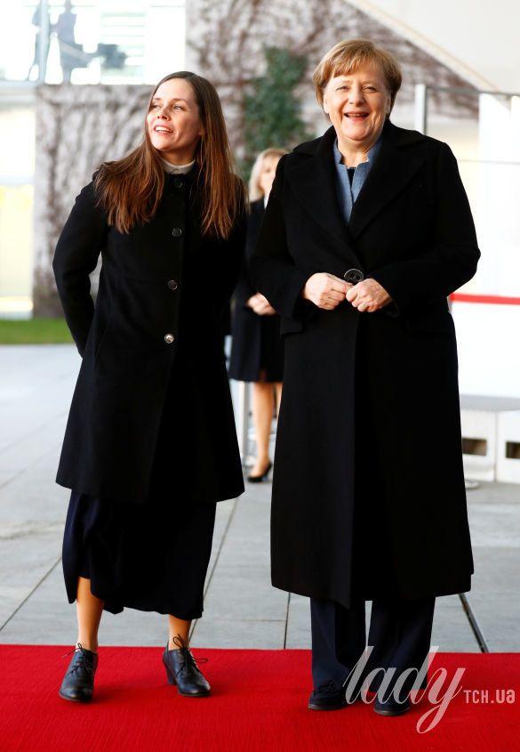 Катрин Якобсдоттир и Ангела Меркель_1