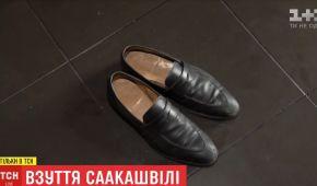 """На даху """"будинку Саакашвілі"""" знайшли елітні англійські туфлі ціною 15 тисяч гривень"""