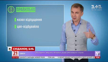 Обогащаем словарь фразеологизмов - экспресс-урок украинского языка