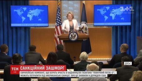 """США могут распространить антироссийские санкции на строителей """"Северного потока-2"""""""