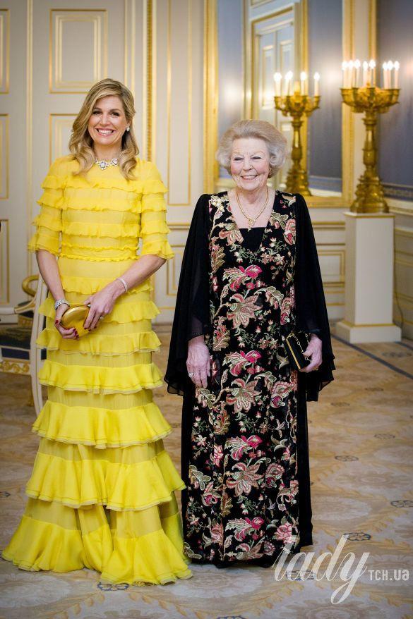 Королева Рания и королева Максима_2