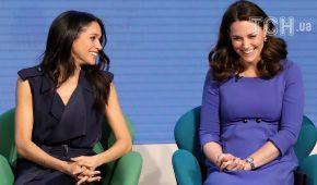 Кейт Міддлтон та Меган Маркл зобразили у кумедних емоджі