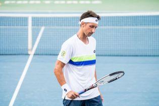 Троє українців вилетіли на старті тенісного турніру в Маямі