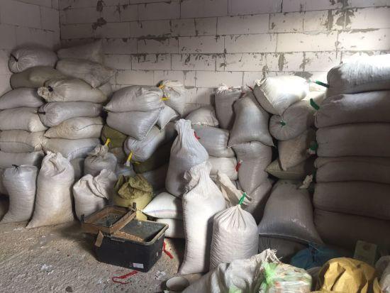 На Житомирщині СБУ вилучила понад три тонни незаконно видобутого бурштину