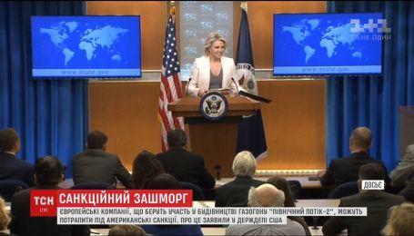 """Соединенные Штаты могут расширить антироссийские санкции на строителей """"Северного потока-2"""""""