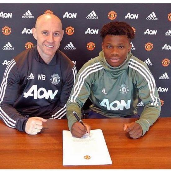 """""""Манчестер Юнайтед"""" підписав професійний контракт із юним талантом"""