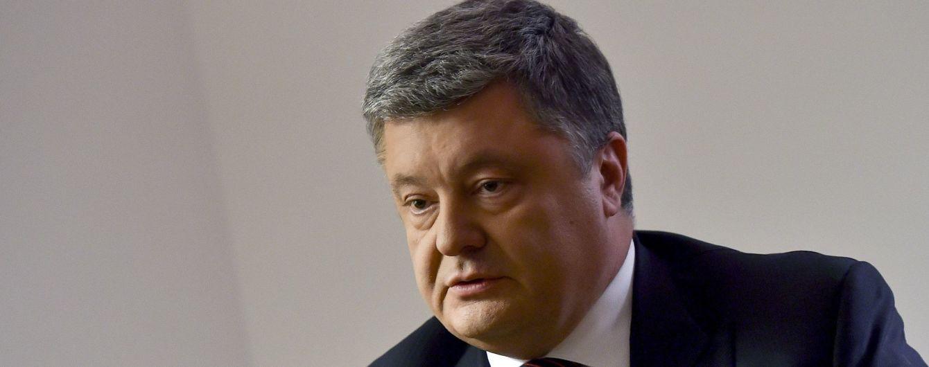 Порошенко внесе до Ради рішення про часткове розірвання Великої угоди з Росією