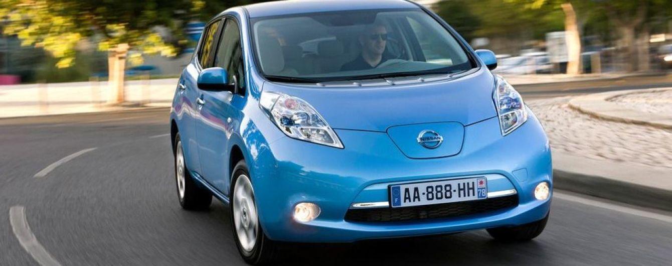 Пятилетний Nissan Leaf можно купить в десять раз дешевле, чем новый